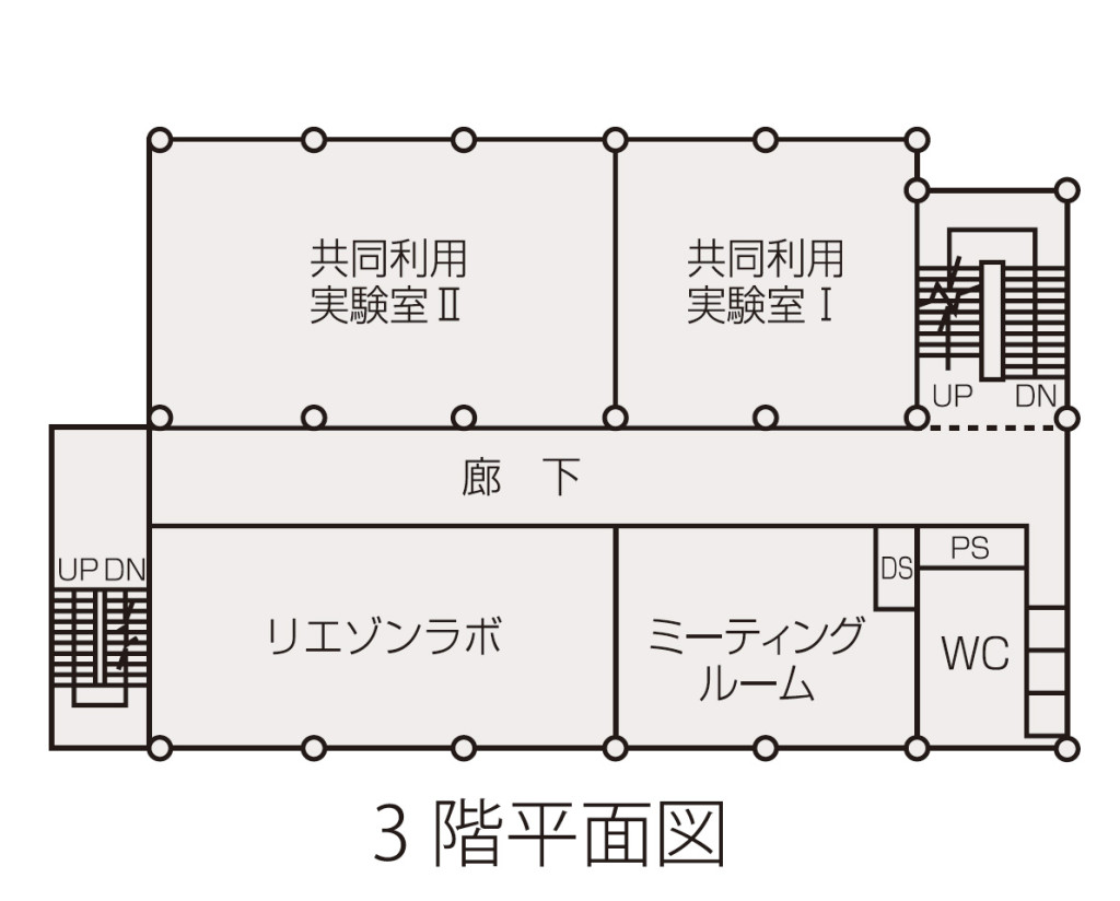 センター3F平面図